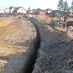 Inženýrské sítě kanalizace-Mokrovraty
