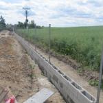 stavba plotu v Nové Vsi pod Pleší