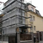 Zateplení bytového domu v Praze - Dejvice